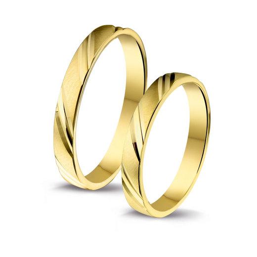 Afbeelding van Amorio goedkope trouwringen 4003711