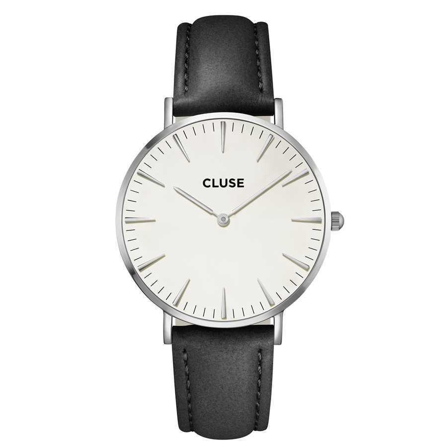 Afbeelding van CLUSE La Boheme Zilverkleurig 38mm Horloge CL18208