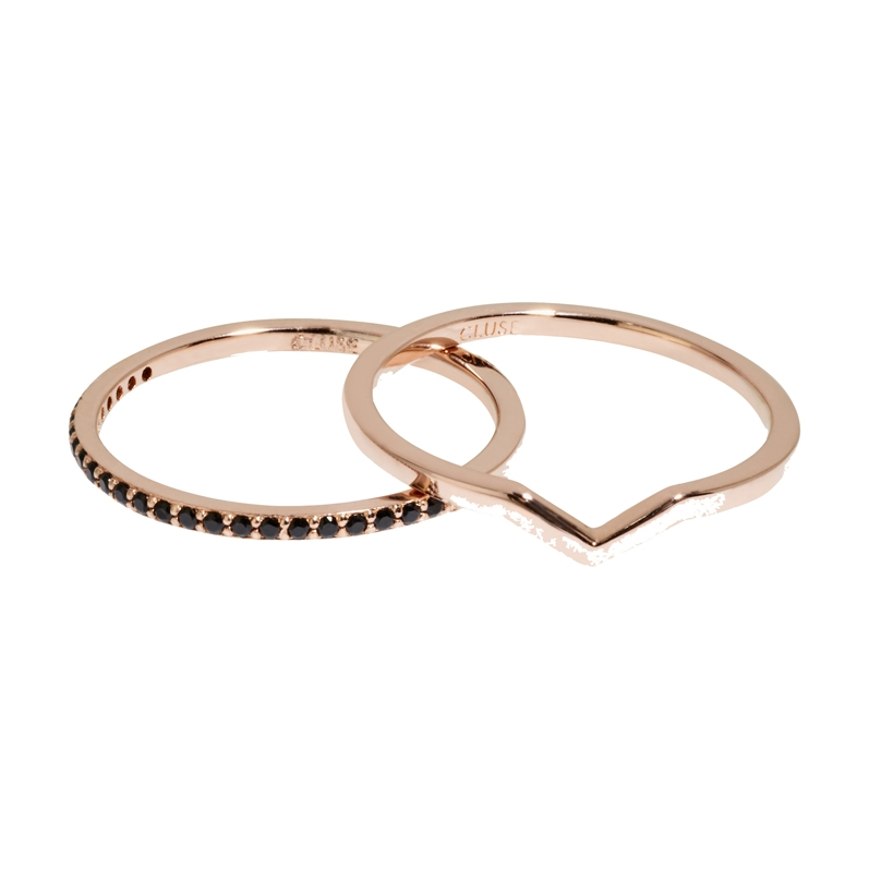 Afbeelding van CLUSE CLJ40004 54 Essentiele Rosegold Set Ring