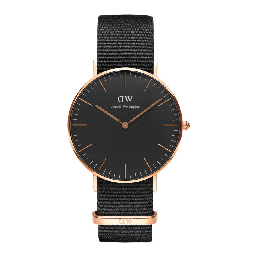 Afbeelding van Daniel Wellington Classic Black Cornwall horloge (40 MM) DW00100148 herenhorloge