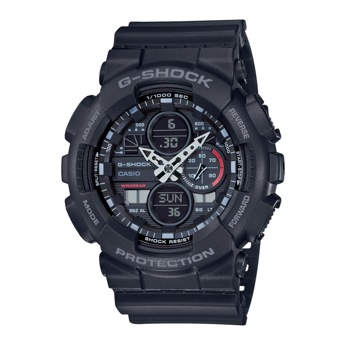 Casio G-Shock GA-140-1A1ER - Black - horloge