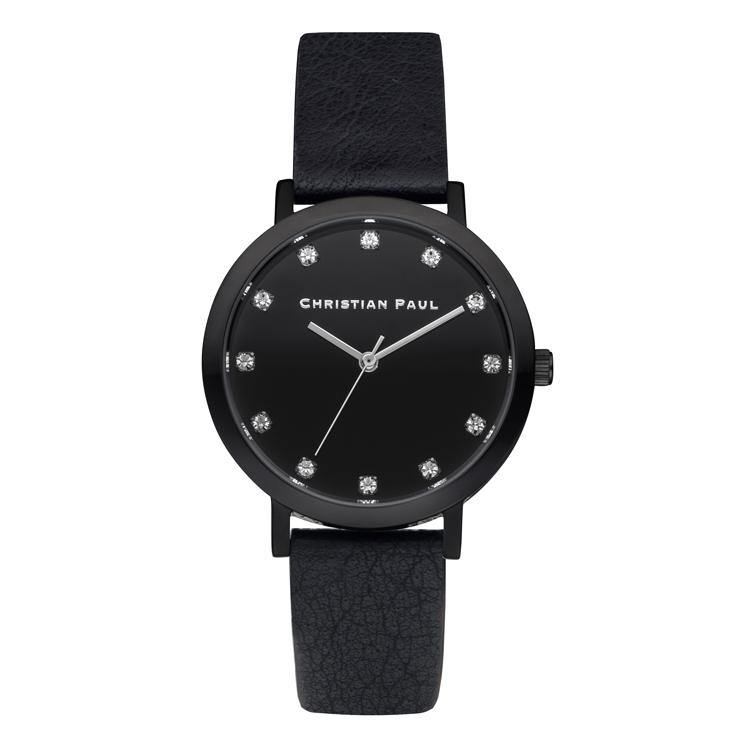 Afbeelding van Christian Paul The Strand Luxe 35 MM Black / horloge