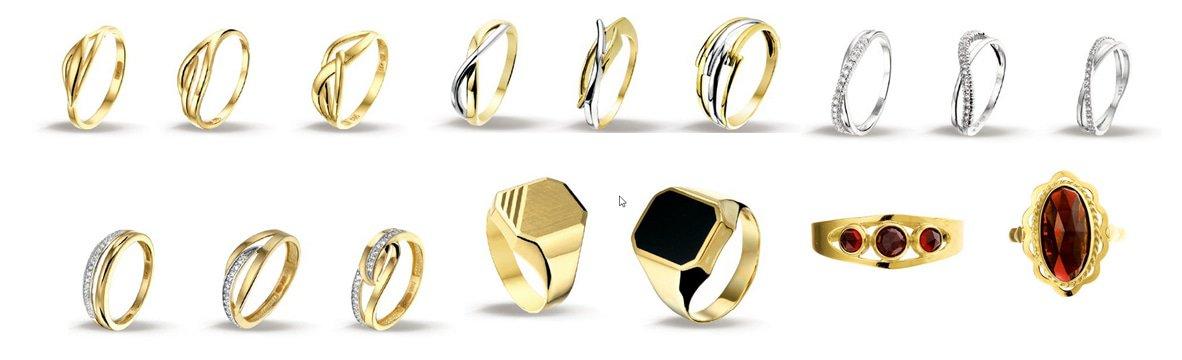 14 karaat gouden ringen