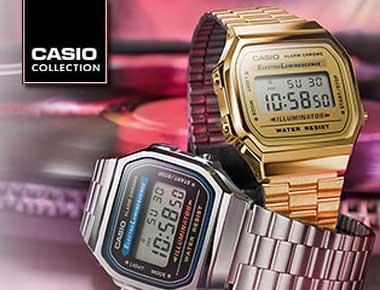 Casio retro horloge