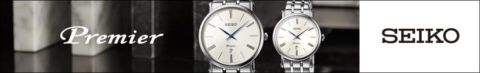 Seiko Premier dames en heren horloges